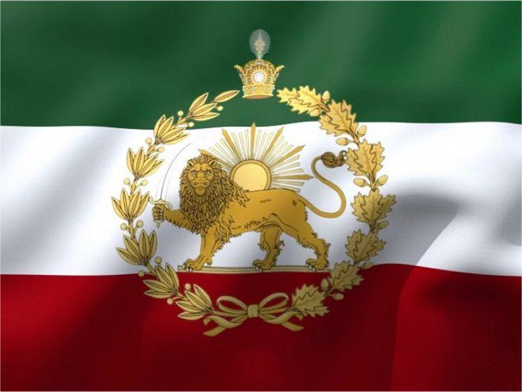 پرچم شیر و خورشید ایران